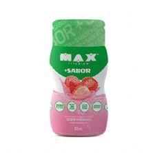 + Sabor - 1 Unidade de 50ml cada Sabor Morango - Max Titanium