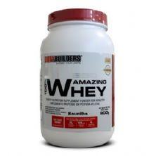 100% Amazing Whey - 900g Baunilha - BodyBuilders