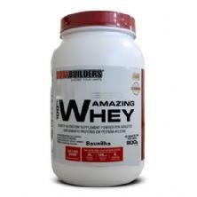 100% Amazing Whey - 900g Baunilha - BodyBuilders*** Data Venc. 30/05/2019