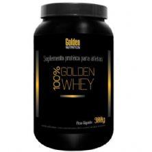 100% Golden Whey - 900g Morango - Golden Nutrition
