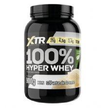 100% Hyper Whey Com Stevia - 900g Sorvete de Creme - XTR