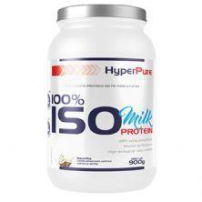 100% Iso Milk Protein - 900g Baunilha - HyperPure*** Data Venc. 30/06/2020