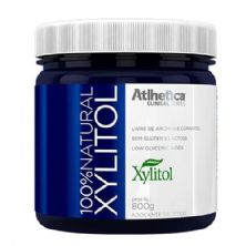 100% Natural Xylitol - 800g - Atlhetica Nutrition