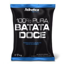 100% Pura Batata Doce - 1000g Refil - Atlhetica Nutrition