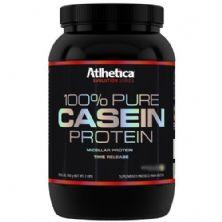 100% Pure Casein Protein - 900g Morango - Atlhetica