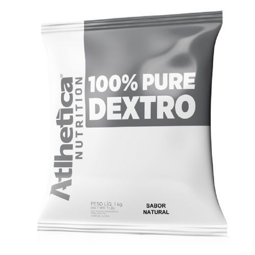 100% Pure Dextro Pro Series - 1000g Refil Natural - Atlhetica Nutrition no Atacado