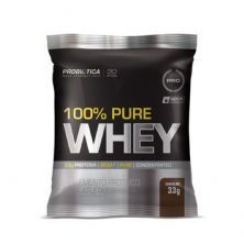 100% Pure Whey - 1 Sachê 33g Chocolate - Probiotica