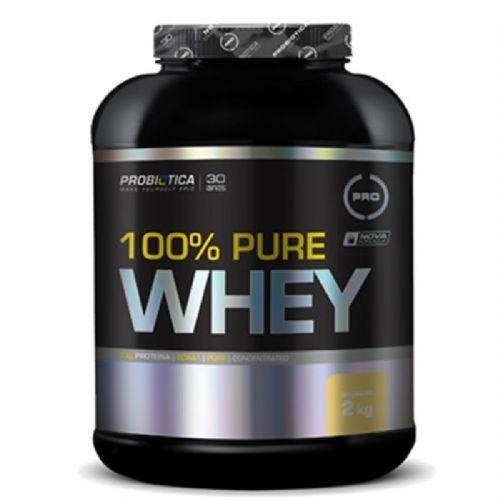 100% Pure Whey - 2000g Baunilha - Probiotica no Atacado