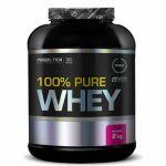 Kit 10X 100% Pure Whey - 2000g Morango - Probiótica