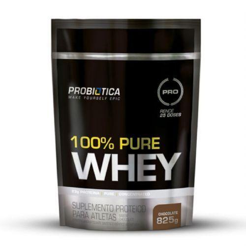 100% Pure Whey - 825g Refil Chocolate - Probiotica no Atacado