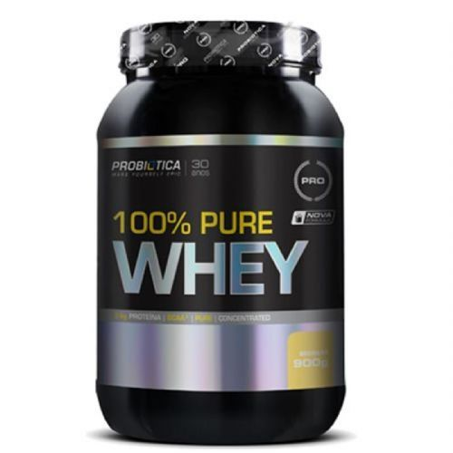 100% Pure Whey - 900g Baunilha - Probiótica no Atacado