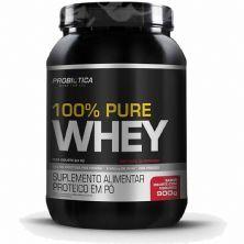 100% Pure Whey - 900g Iogurte com Morango - Probiotica