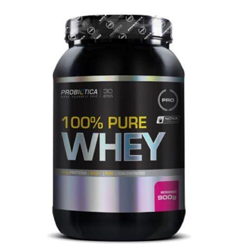 100% Pure Whey - 900g Morango - Probiótica no Atacado