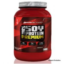 100% Soy Protein Premium - 1Kg Sabor Chocolate - BodyAction