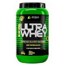 100% Ultra Whey - 900g morango - Ultratech