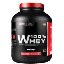 100% Whey - 2000g Morango - BodyBuilders