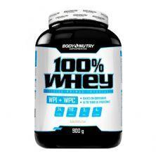 100% Whey  - 900g Baunilha - Body Nutry