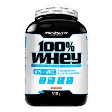 100% Whey  - 900g Morango - Body Nutry