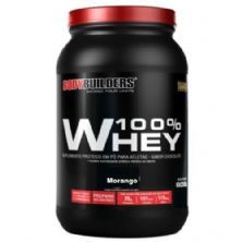 100% Whey - 900g Morango - BodyBuilders
