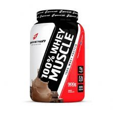 100% Whey Muscle - 900g Chocolate - BodyAction