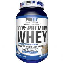 100% Whey Premium - 907g Baunilha - ProFit