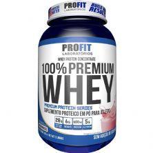 100% Whey Premium - 907g Morango - ProFit