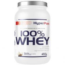 100% Whey Protein Concentrado - 900g Baunilha - HyperPure