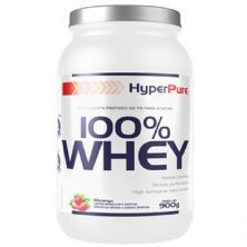 100% Whey Protein Concentrado - 900g Morango - HyperPure