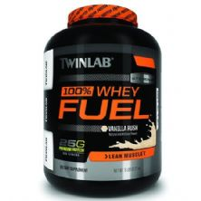 100% Whey Protein Fuel - 2268g Baunilha - Twinlab