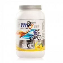 100% Whey Protein Isolate - 900g Limão Siciliano - Clean Whey