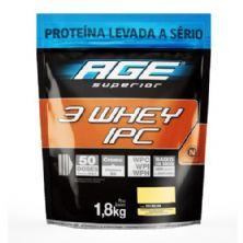 3 Whey IPC AGE - 1800g Refil Baunilha Pouch  - Nutrilatina