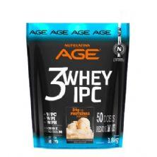 3 Whey IPC AGE - 1800g Baunilha - Nutrilatina