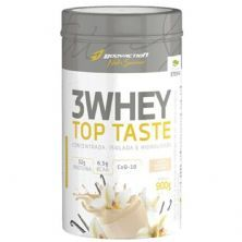 3 Whey Top Taste - 900g Baunilha - Body Action