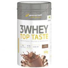 3 Whey Top Taste - 900g Chocolate - Body Action