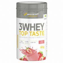 3 Whey Top Taste - 900g Morango - Body Action
