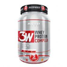 3W Whey Protein Complex - 930g Baunilha- MidWay