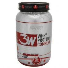 3W Whey Protein Complex -930g Morango - Midway