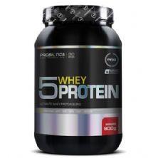 5 Whey Protein - 900g Morango - Probiótica*** Data Venc. 30/10/2018