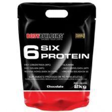 6 Six Protein - 2000g Refil Chocolate - BodyBuilders