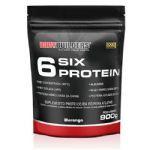 6 Six Protein - 900g Refil Morango - BodyBuilders