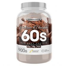 60s Iso Whey Protein - 900g Delicious Chocolate - Forcetech Labs*** Data Venc. 30/08/2019