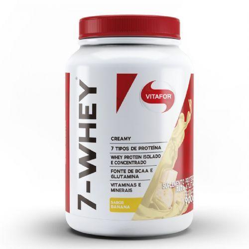 7 Whey Creamy - 900g Banana - Vitafor no Atacado