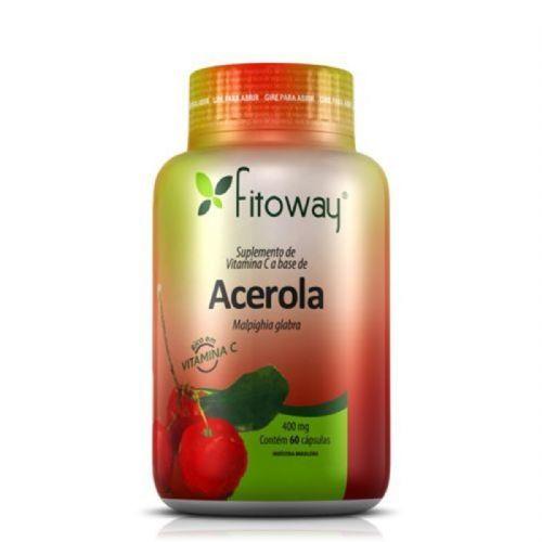 Acerola - 60 Cápsulas - Fitoway no Atacado