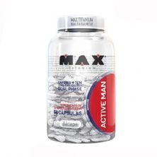 Active Man - 60 Cápsulas - Max Titanium*** Data Venc. 24/04/2019