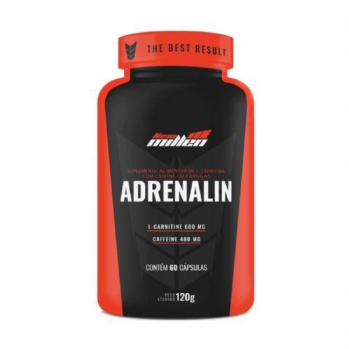 Adrenalin - 60 cápsulas - New Millen no Atacado