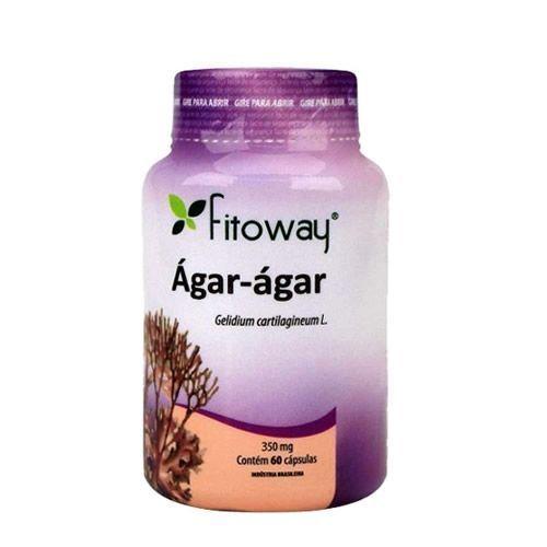 Ágar-ágar - 60 Cápsulas - Fitoway no Atacado