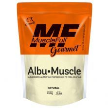 Albu-Muscle Gourmet -  450g Natural - MuscleFull