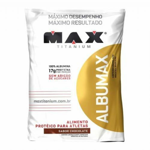 Albumax 100% - 500g Chocolate - Max Titanium no Atacado