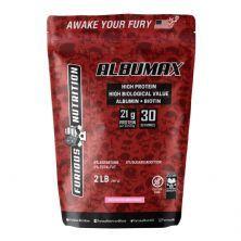 Albumax - 907g Mousse de Morango - Furious Nutrition