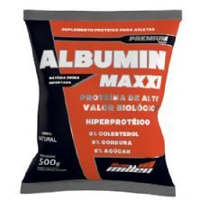 Albumin Maxxi - 500g Natural - New Millen*** Data Venc. 08/11/2018